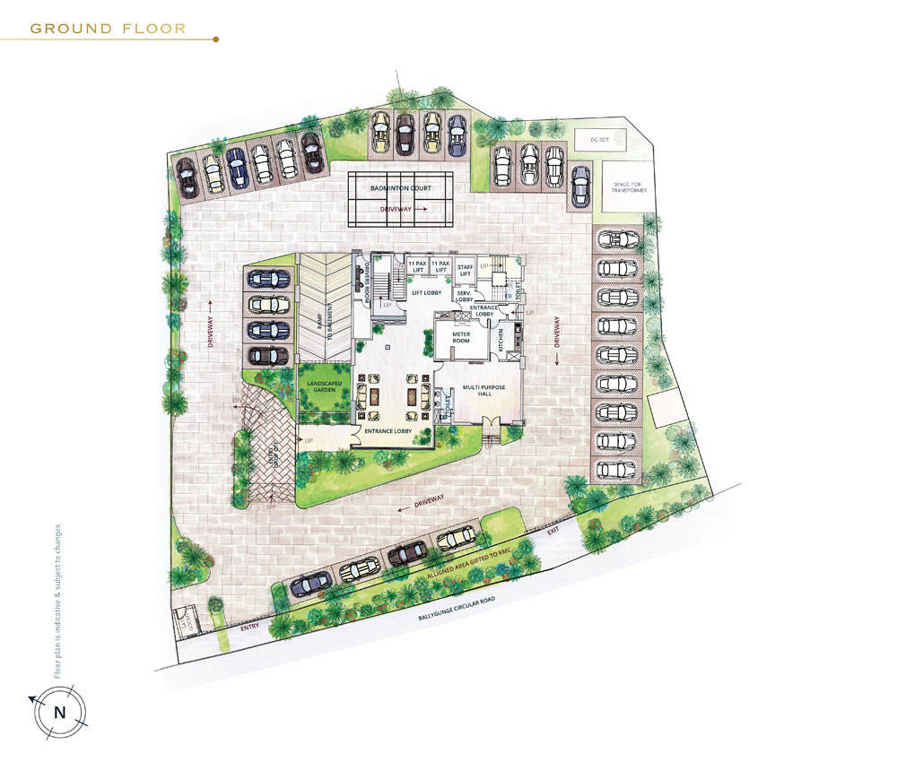 Floor Plans - DRA Group - New Residential Projects in South Kolkata